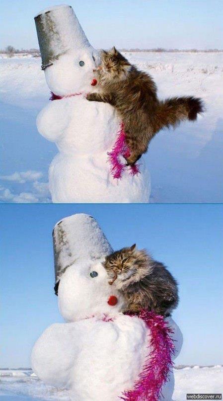 Снеговик, ты такой офигенный 2