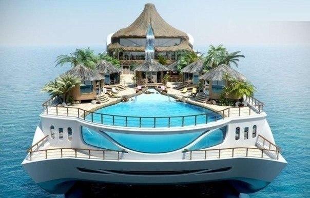 элитная яхта