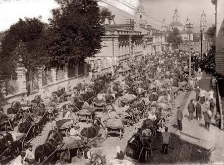 1923 год Московские пробки
