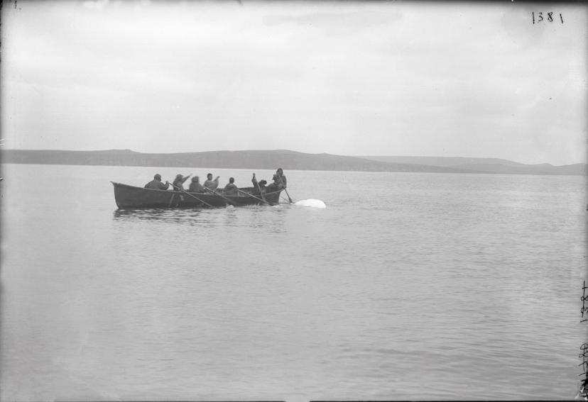 07Hunting whitefish, Siberia, 1901