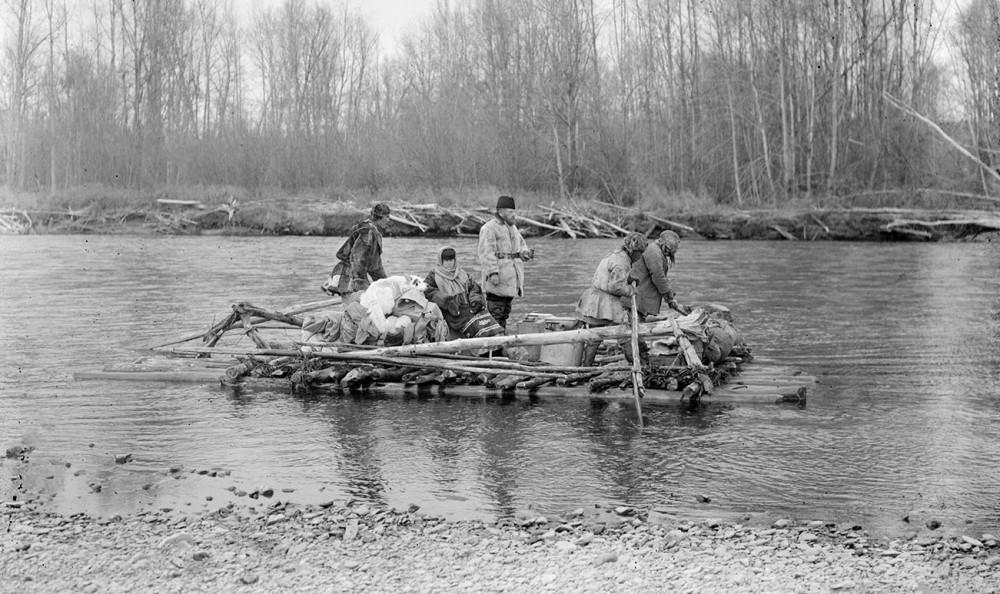 Самое старое фото колымского сплава