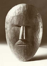 The mask was worn during the autumn thanksgiving feast
