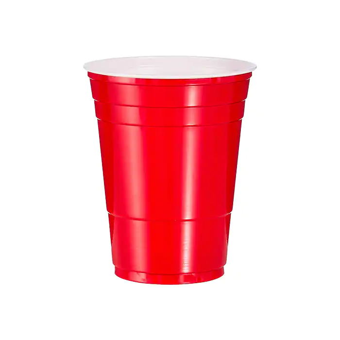 Yes,  it is a solo cup  See what I did there?