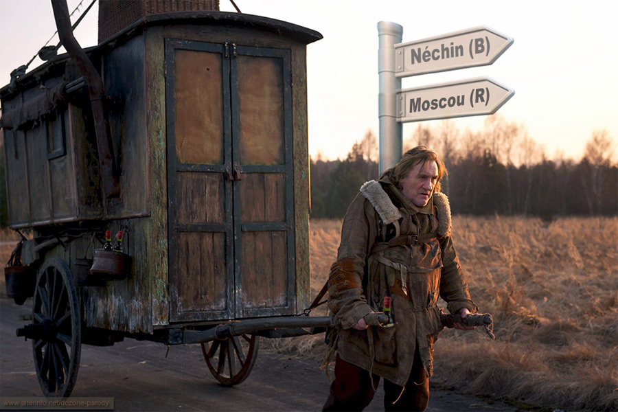 Депардье идет на Москву
