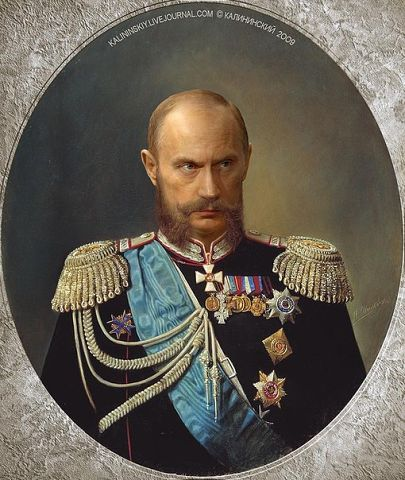 Путин отработал перстень