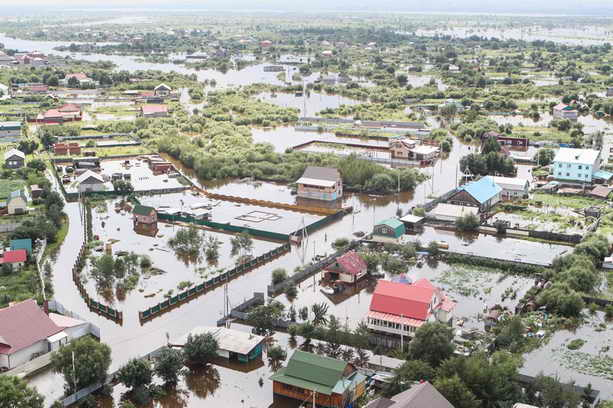 Потоп. Андрей Зубец в фэйсбуке сообщает: