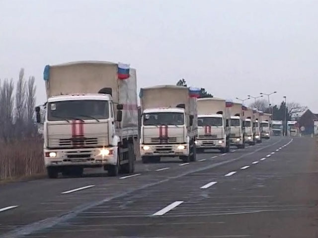 Киев отказался пропустить гуманитарный конвой до санкции Красного Креста