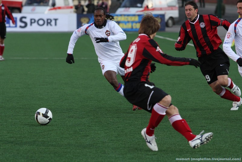 3 тур. Амкар — ЦСКА — 0:0 / 5 апреля 2009