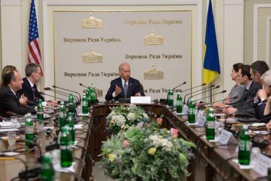 Джо Байден - Президент Украины