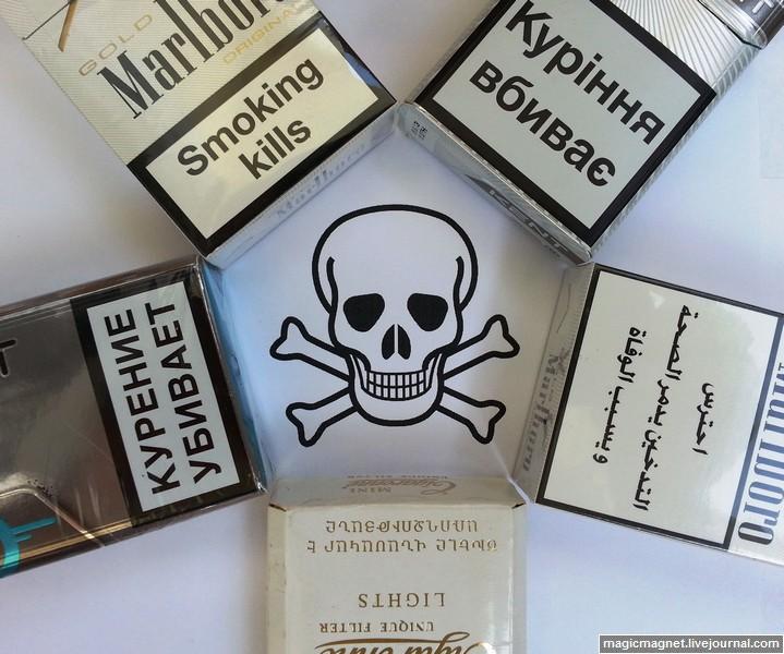 Курить вредно на всех языках