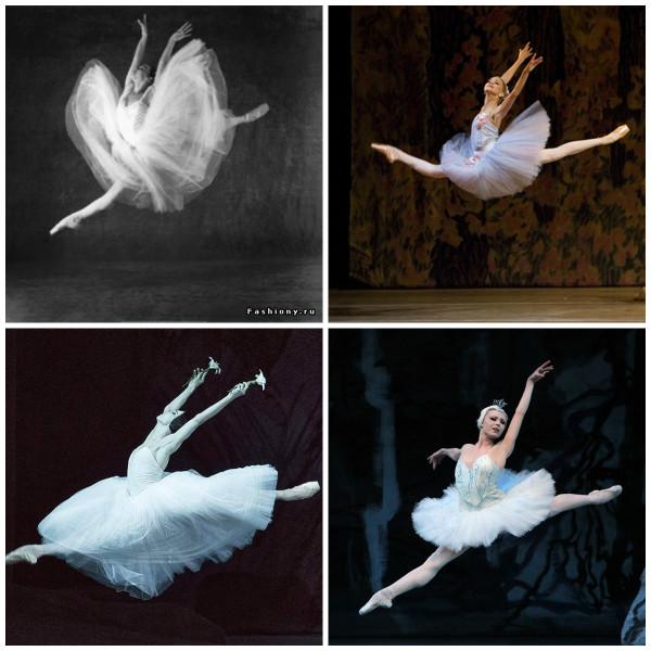 балерины полет коллаж