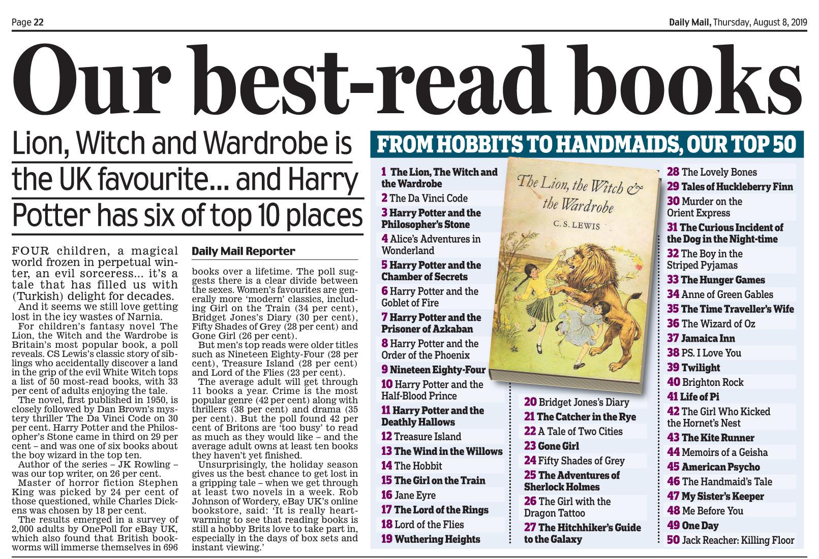 Daily Mail August 8 2019 Best British Books.jpg