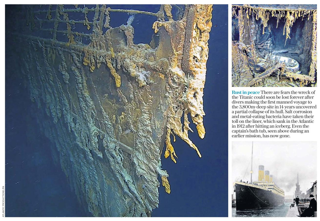 The Daily Telegraph  August 22 2019 Titanic.jpg