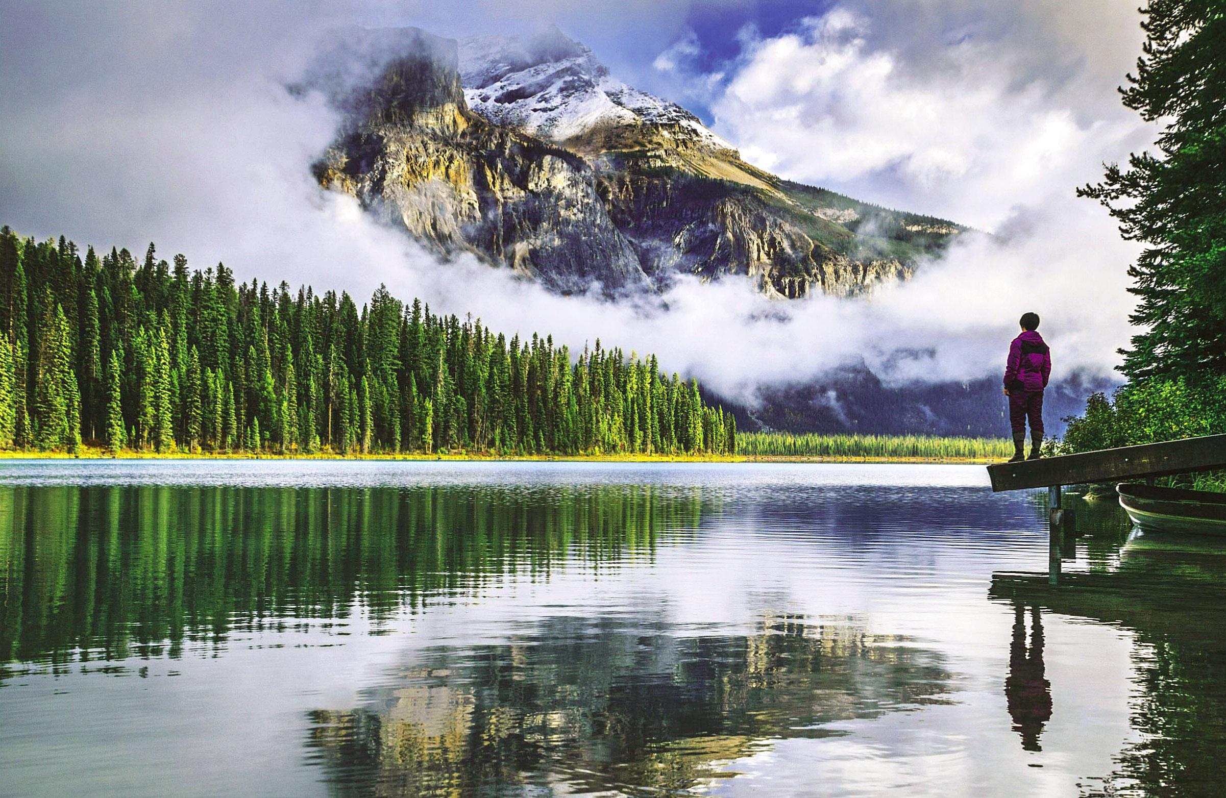 Emerald Lake, British Columbia, Canada by Feng Wei.jpg