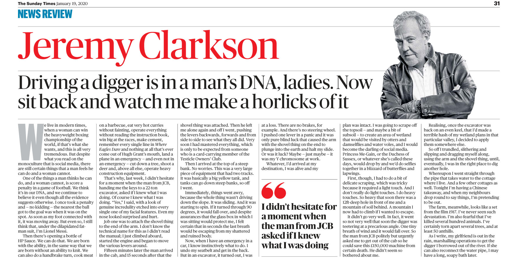 The Sunday Times UK - 19 January 2020 JClarkson.jpg
