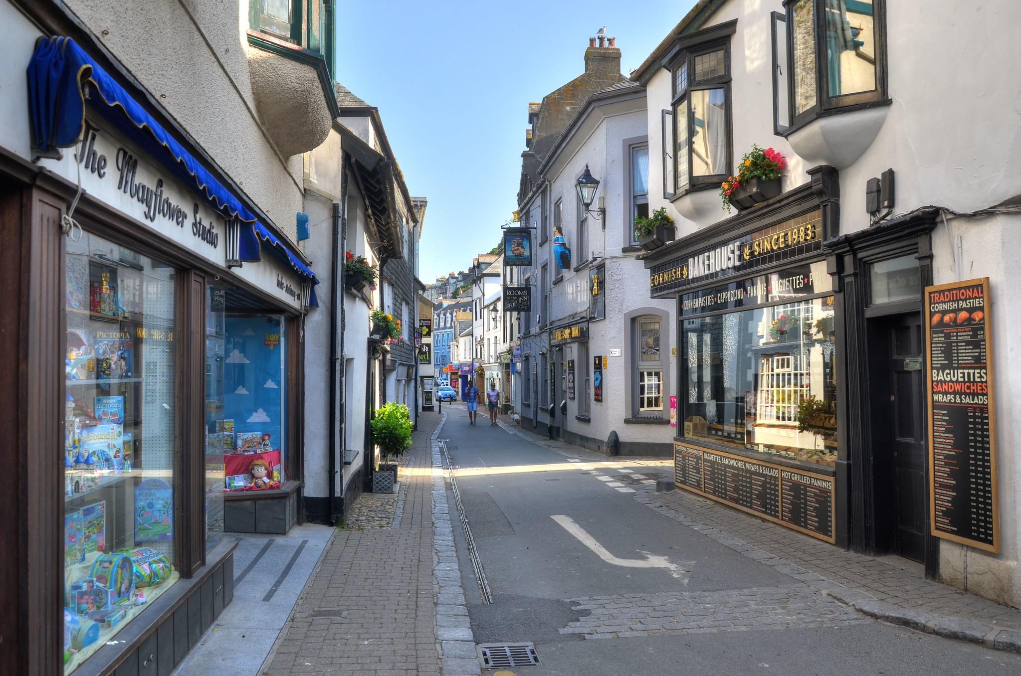 Fore Street, Looe, Cornwall by Baz Richardson.jpg