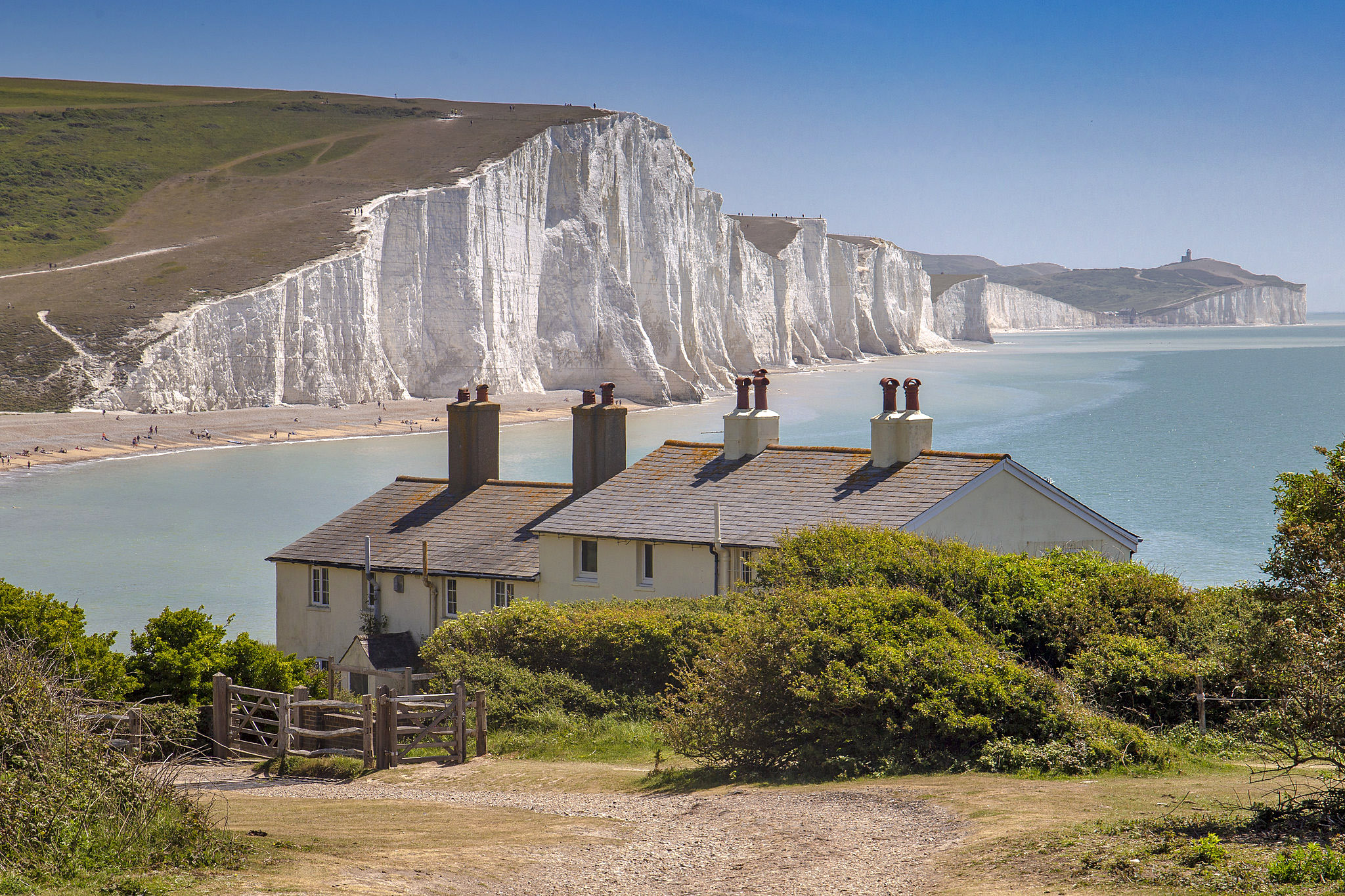 White cliffs in East Sussex by Steve Mantell.jpg