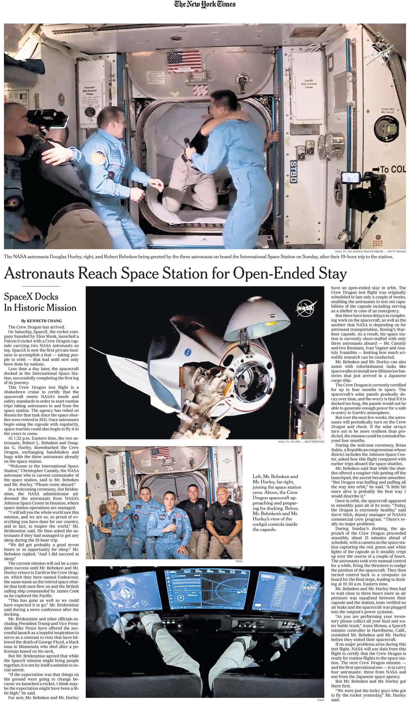 The New York Times - June 1 2020 SpaceX.jpg