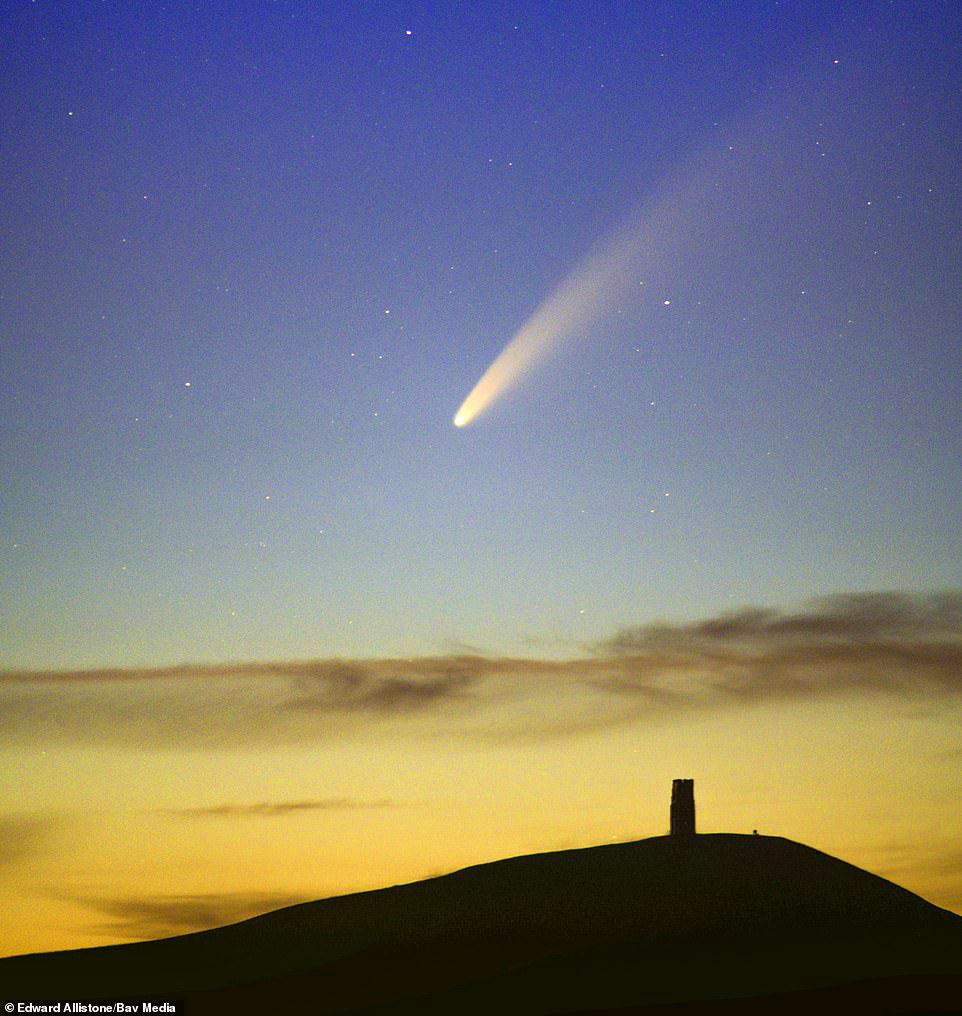 Comet Neowise over Glastonbury Tor by Edward Allistone.jpg