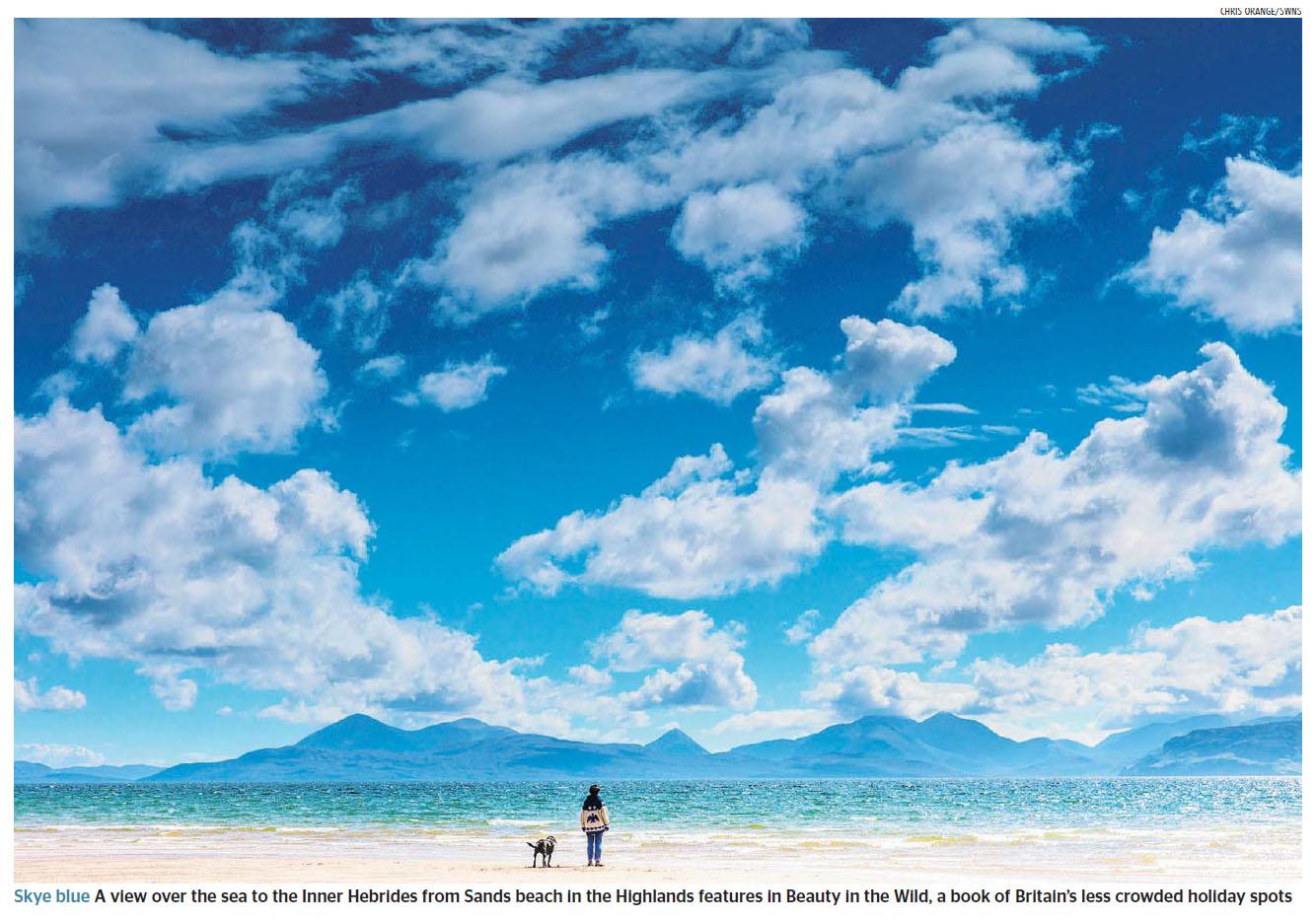 Inner Hebrides from Sands beach, Highlands by Chris Orange.jpg