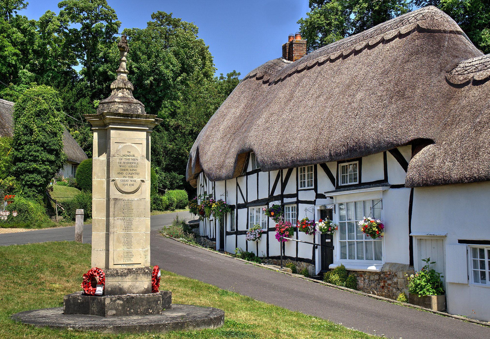Wherwell, Hampshire by Howard Somerville.jpg