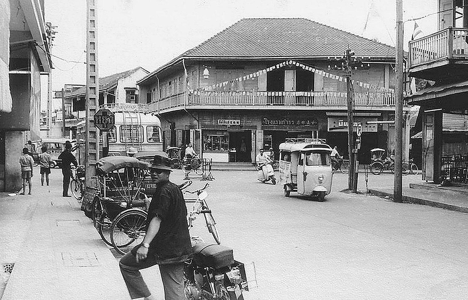1963 Tha Phae Road of Chiang Mai.jpg