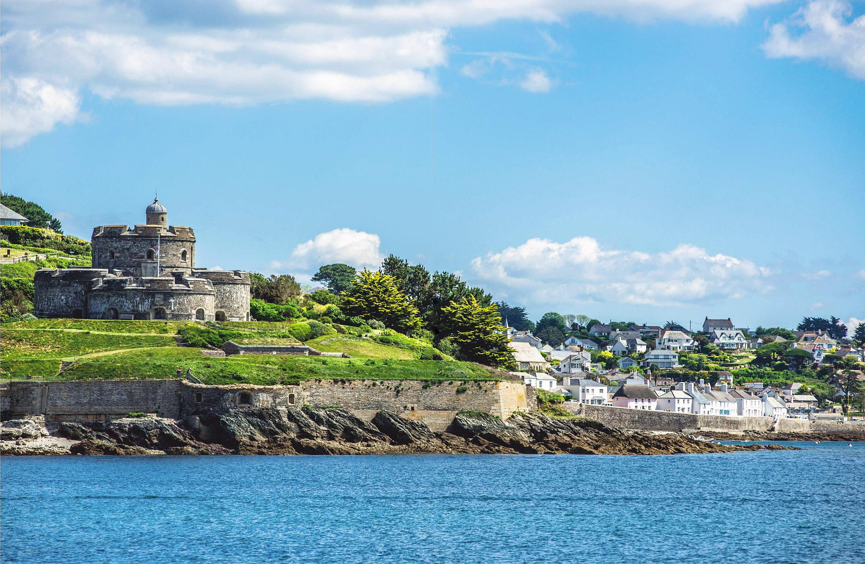 St Mawes Castle, Roseland Peninsula, Cornwall by Antipasm.jpg
