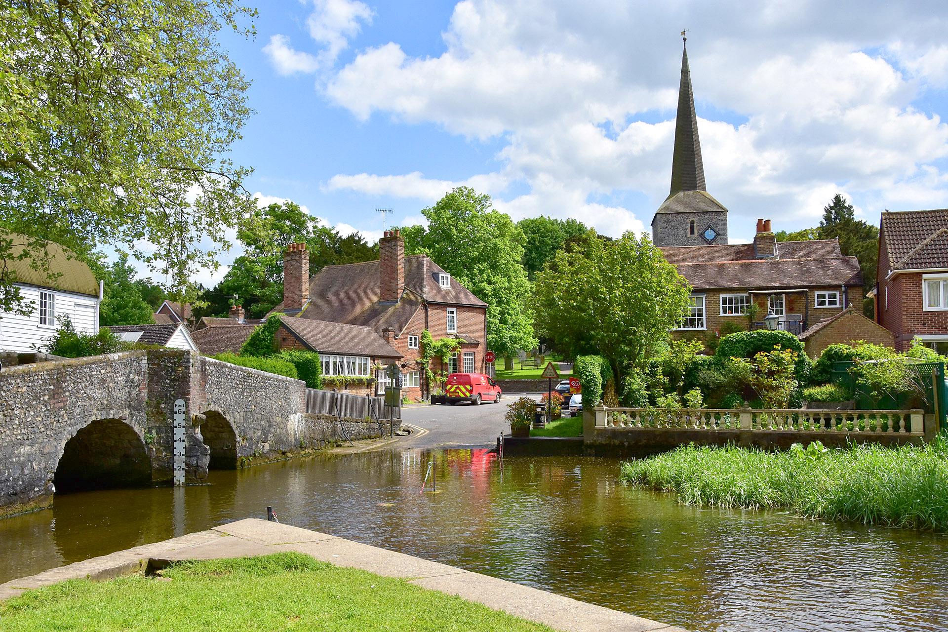 Eynsford, Kent by John King.jpg