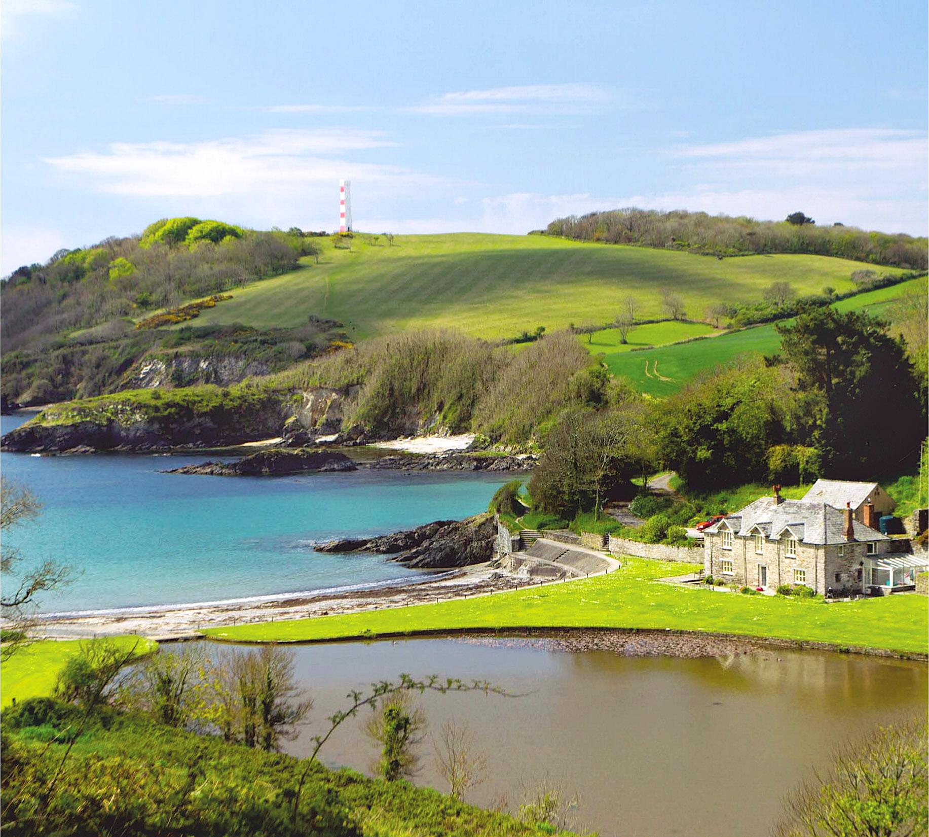 Menabilly, Polridmouth Bay, Fowey, Cornwall by Morley Read.jpg