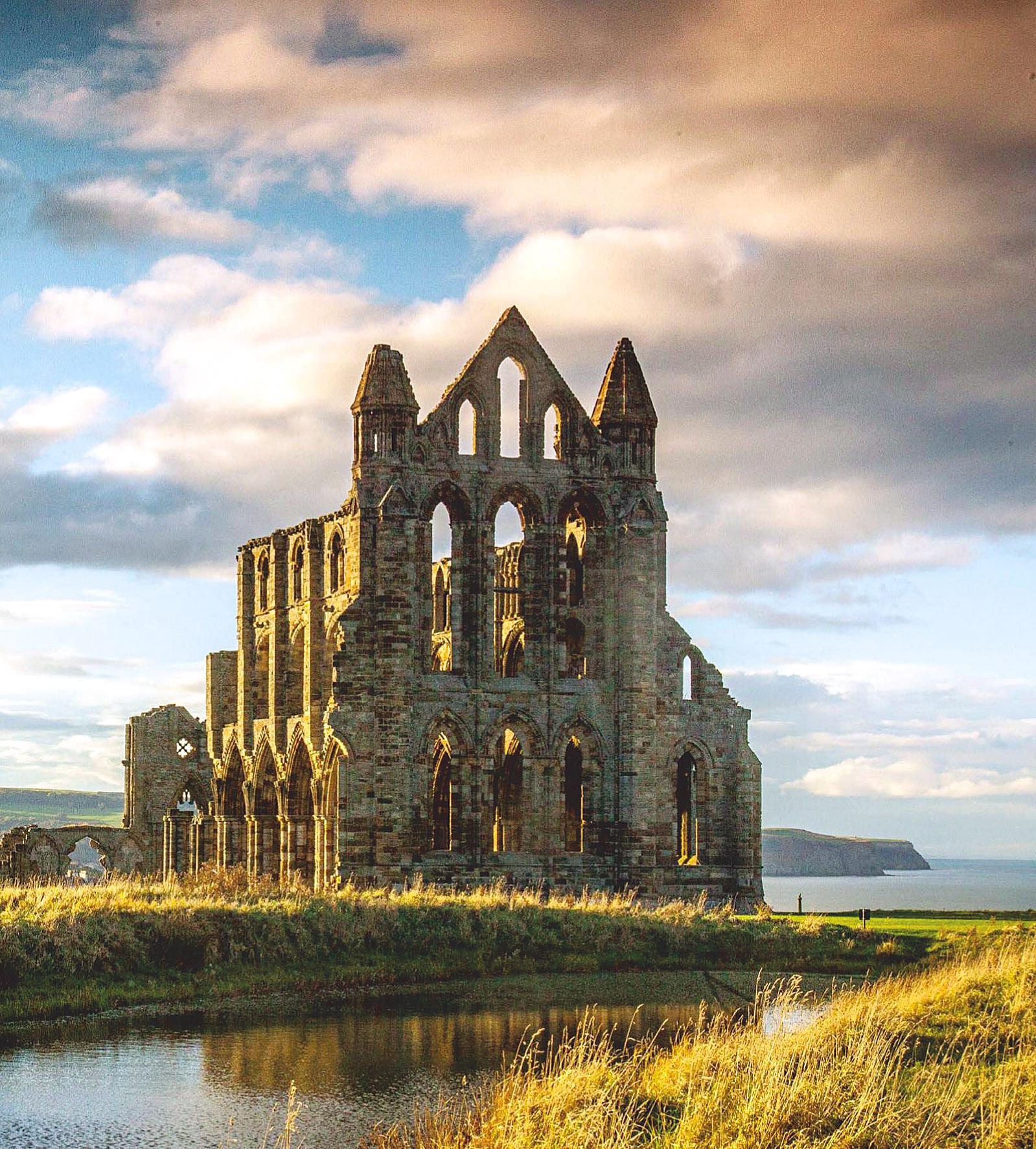 The ruins of Whitby Abbey, Yorkshire by Neal Rylatt.jpg