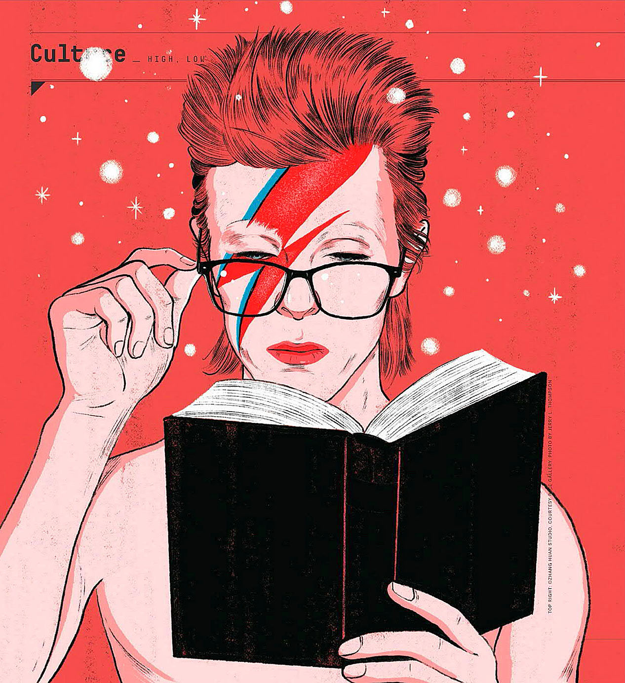 Bowie with book.jpg