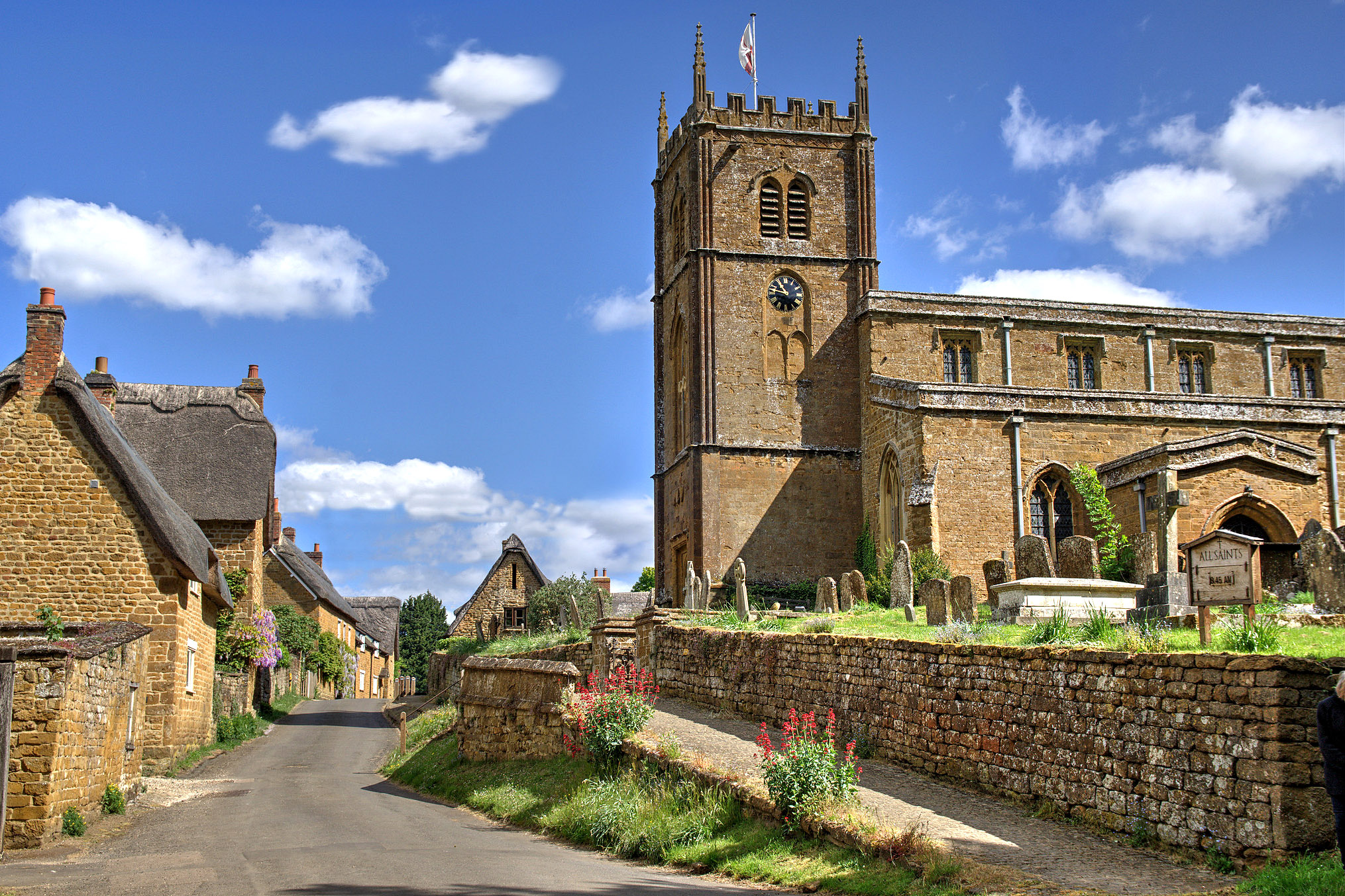 All Saints Church, Wroxton by Howard Somerville.jpg