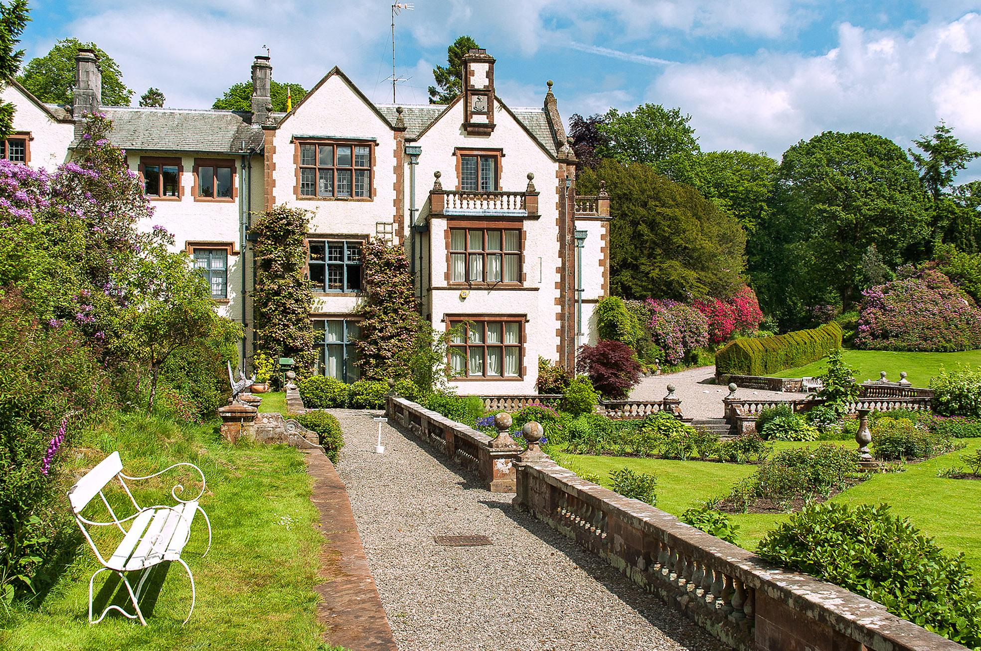 Graythwaite Hall, Cumbria by Ken Barley.jpg