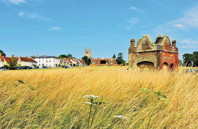 Long Melford, Suffolk by David Sellman.jpg