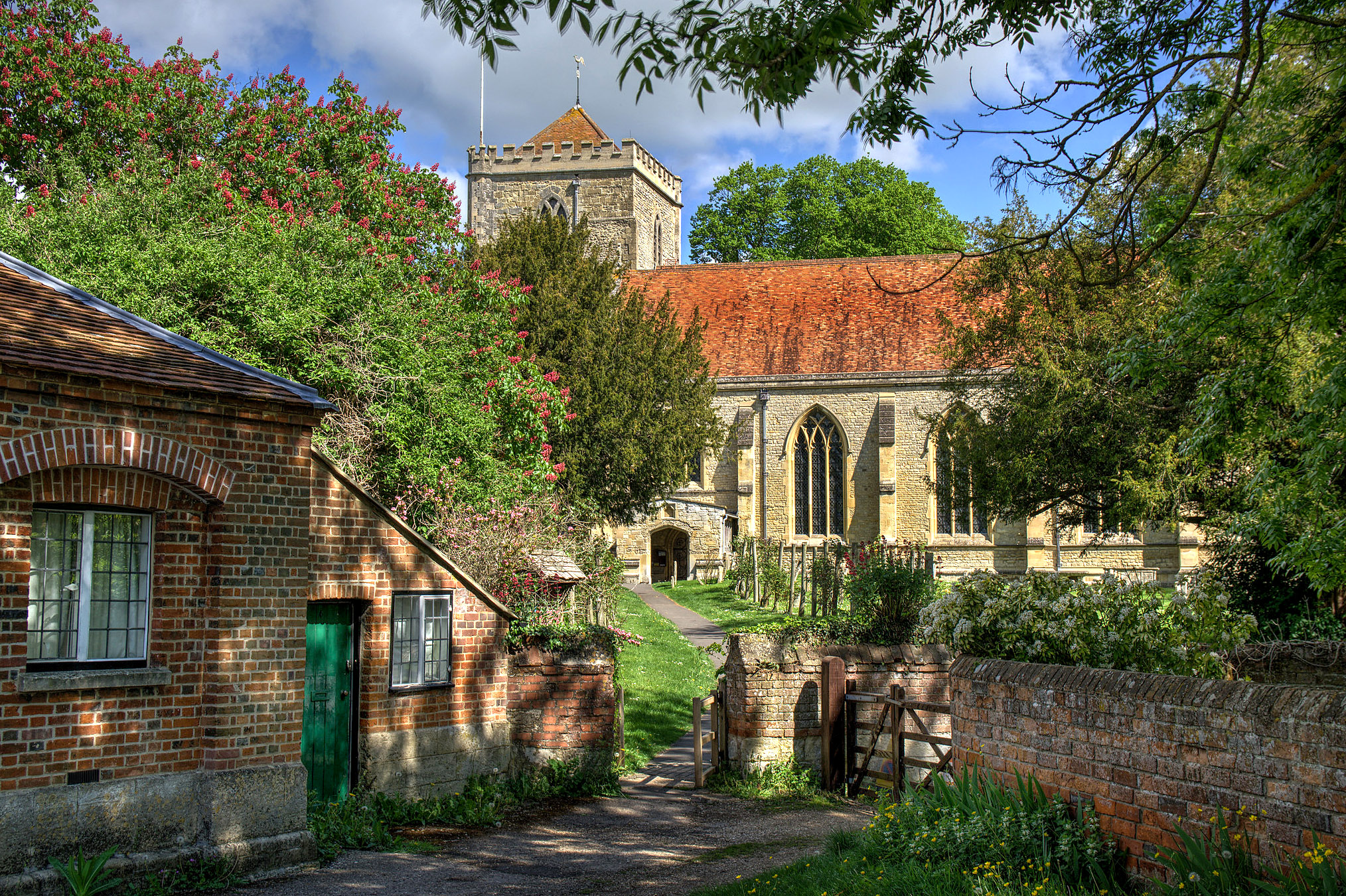 Dorchester Abbey, Oxfordshire by Howard Somerville.jpg