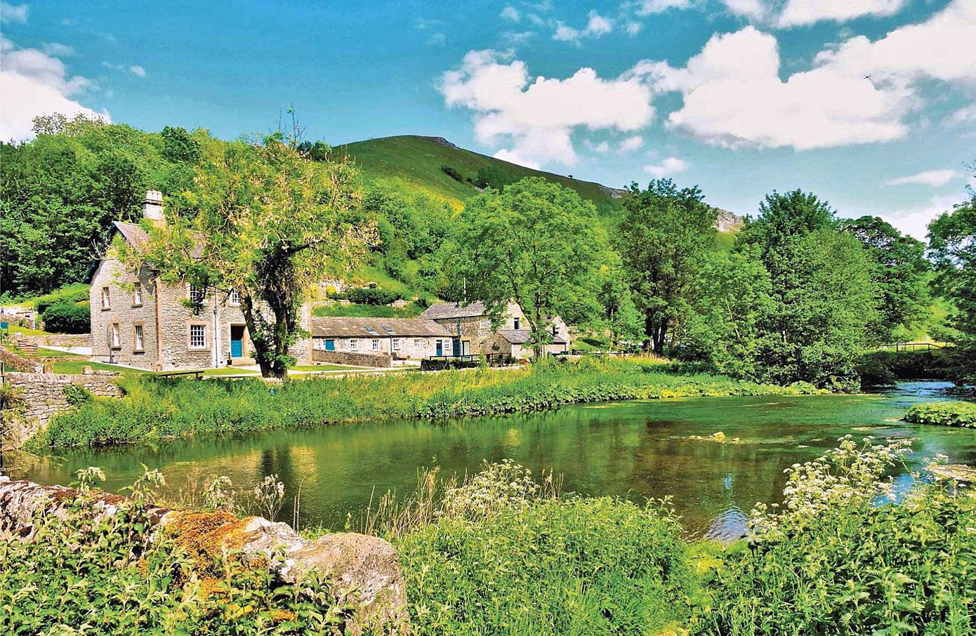 Upperdale on the River Wye, Derbyshire by David Sellman.jpg
