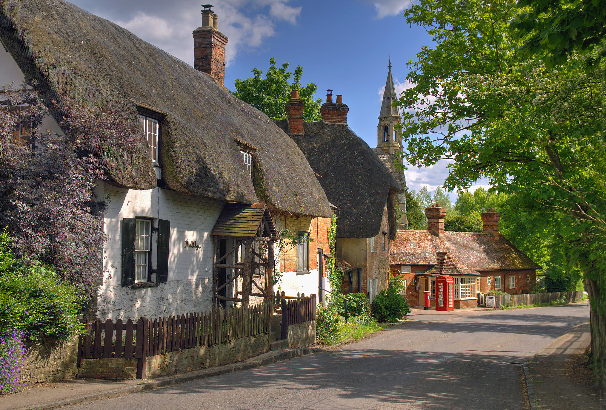 Clifton Hampden, Oxfordshire by Howard Somerville.jpg