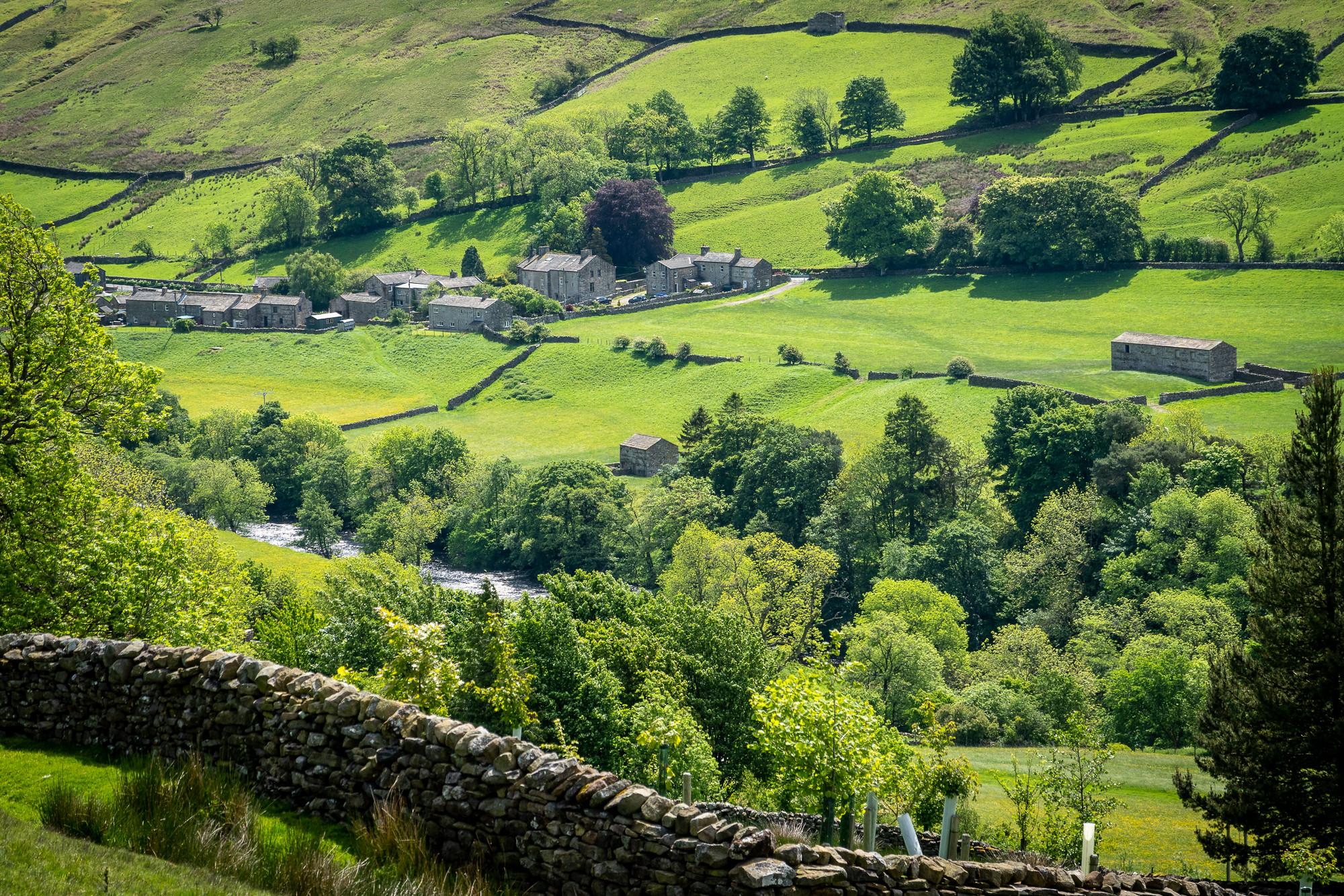 Gunnerside, Swaledale, Yorkshire Dales by Bob Radlinski.jpg