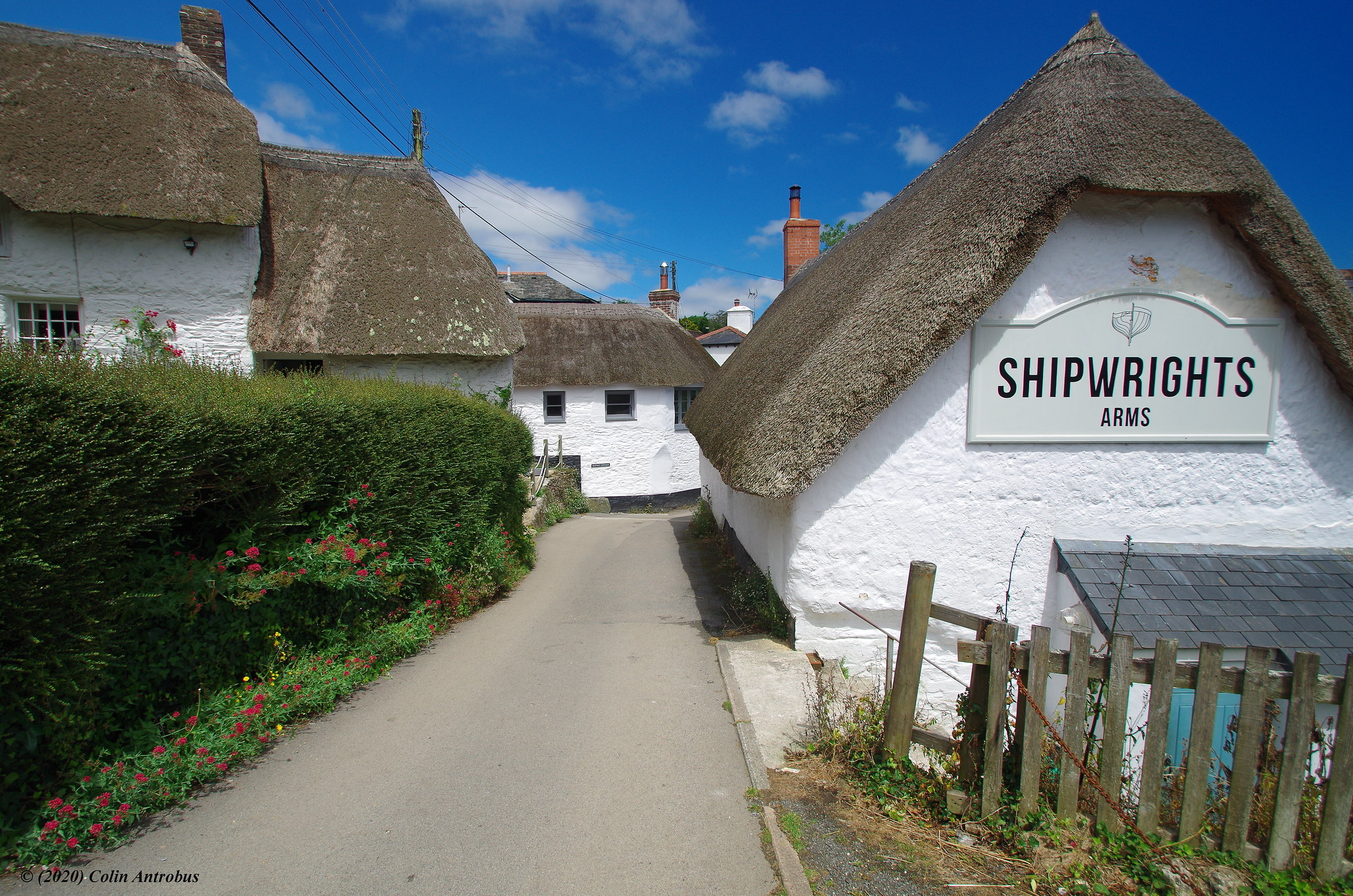 The Shipwrights Arms at Helford, Cornwall by Kernowfile.jpg