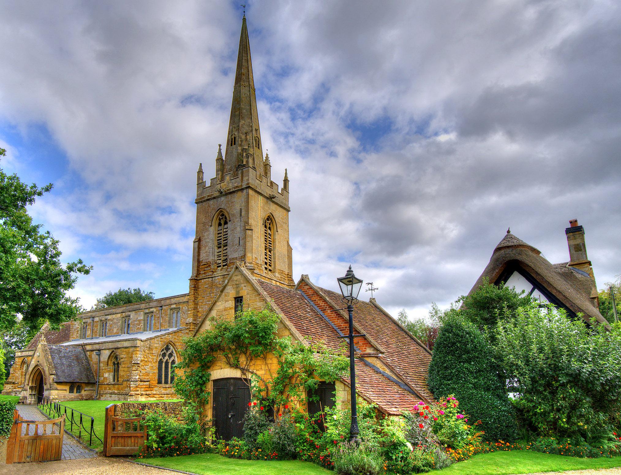 Church of St Swithin, Lower Quinton, Warwickshire by Howard Somerville.jpg