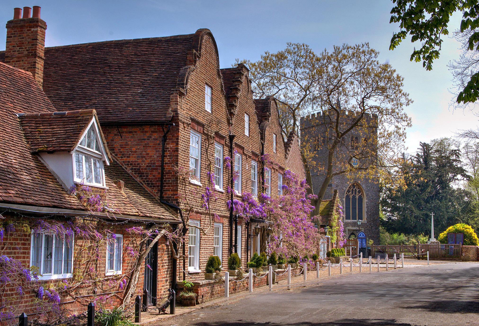 Denham Village, Middlesex by Howard Somerville.jpg
