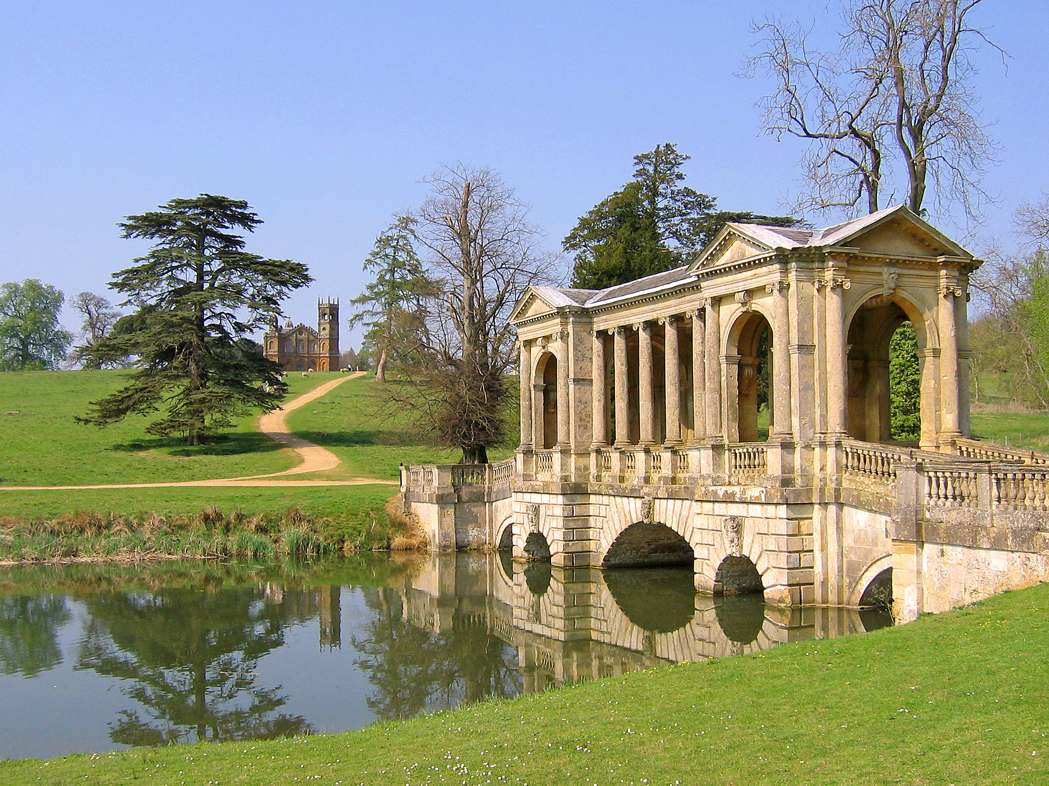 Stow Gardens, Buckinghamshire by Andrew S Brown.jpg