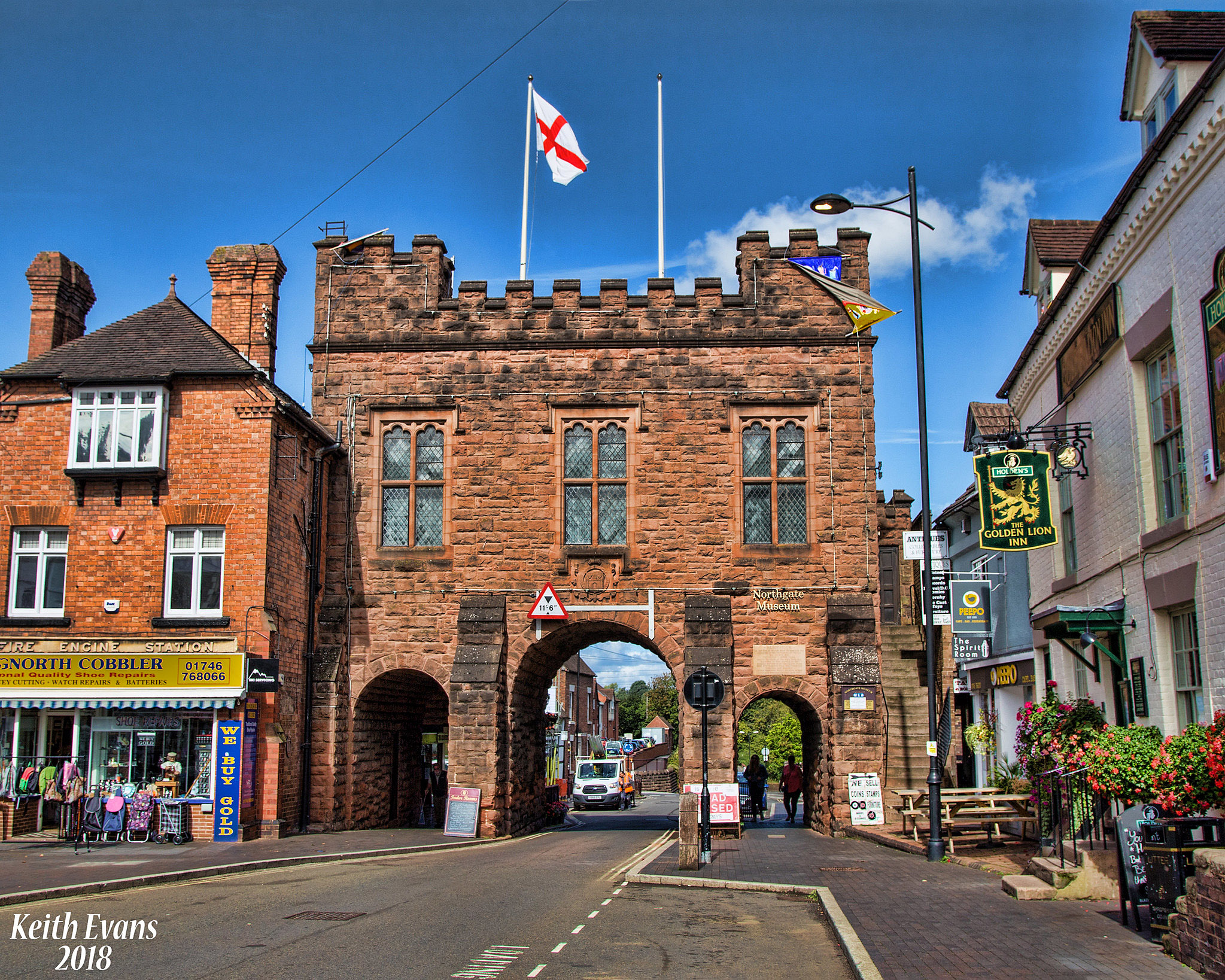 Bridgnorth, Shropshire by Keith Evans.jpg
