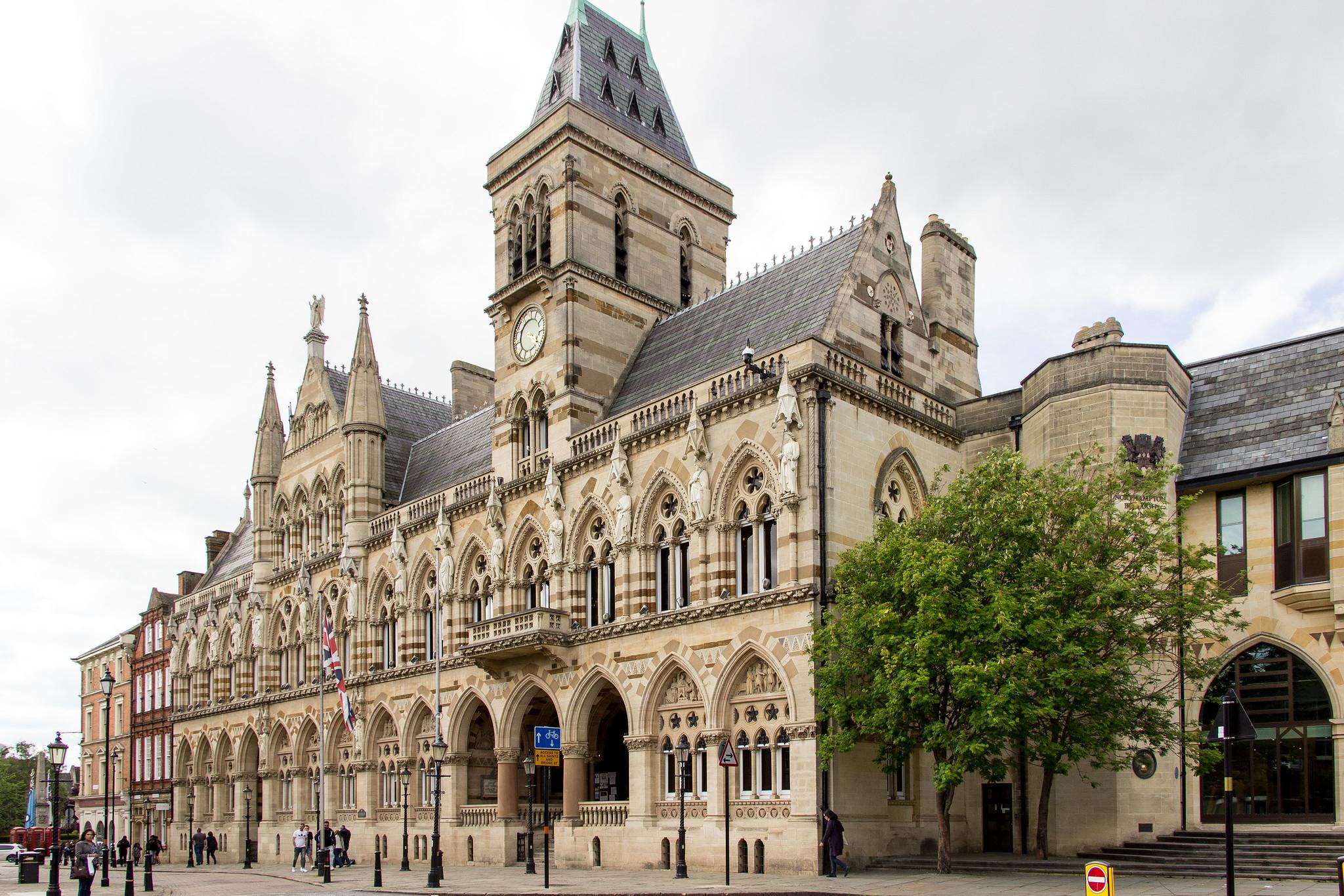 Northampton Guildhall, Northampton by Billy Wilson.jpg