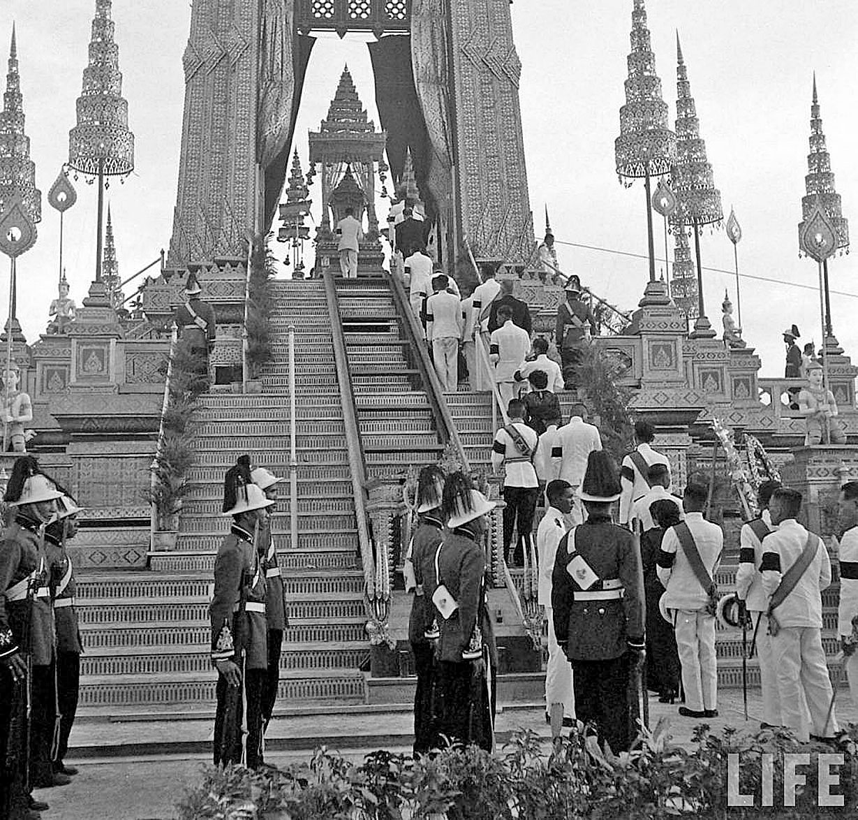 The Royal Cremation of HM King Ananda, March 1950 3.jpg