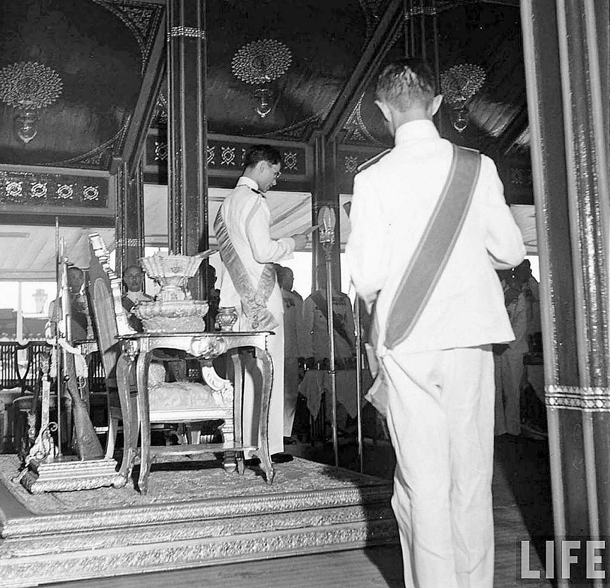 The Royal Cremation of HM King Ananda, March 1950 5.jpg