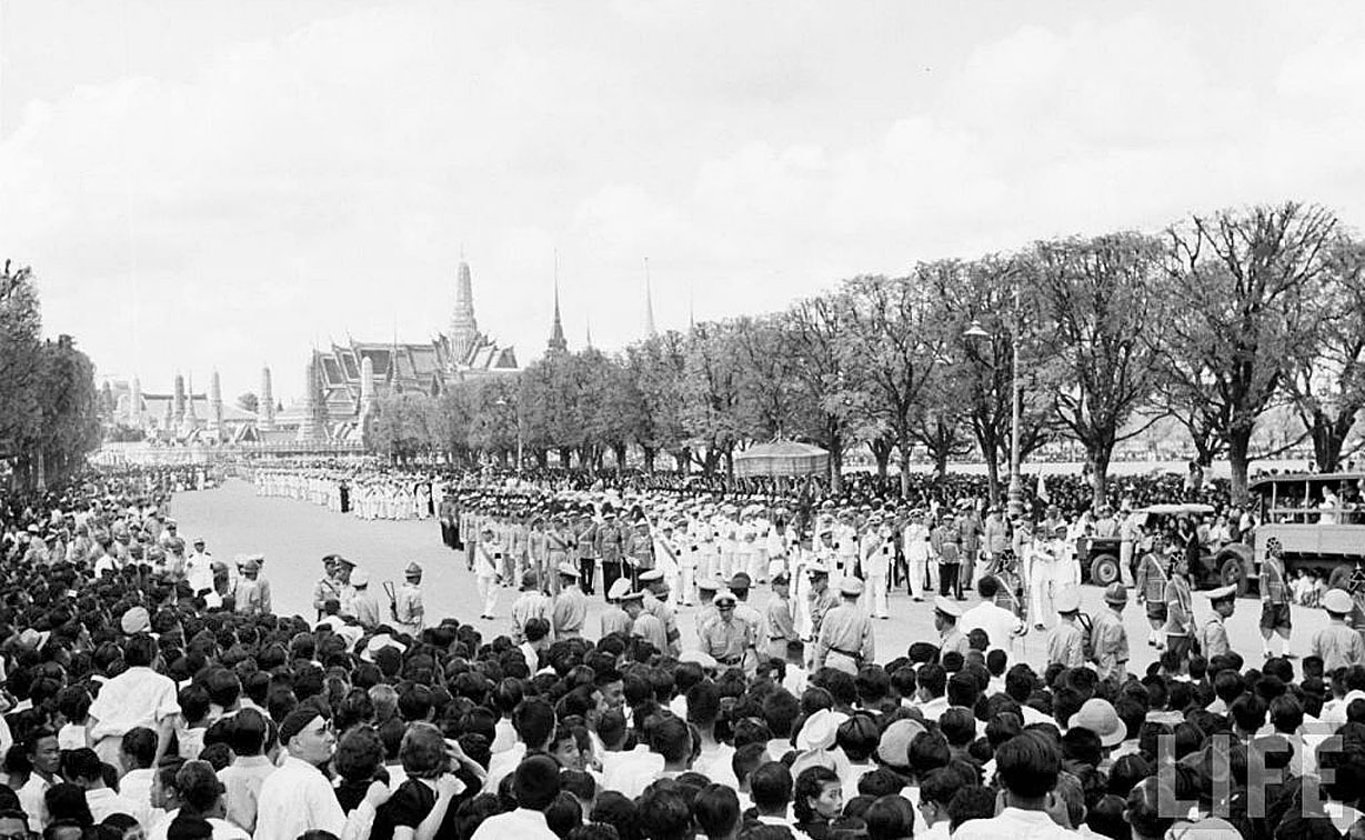 The Royal Cremation of HM King Ananda, March 1950.jpg