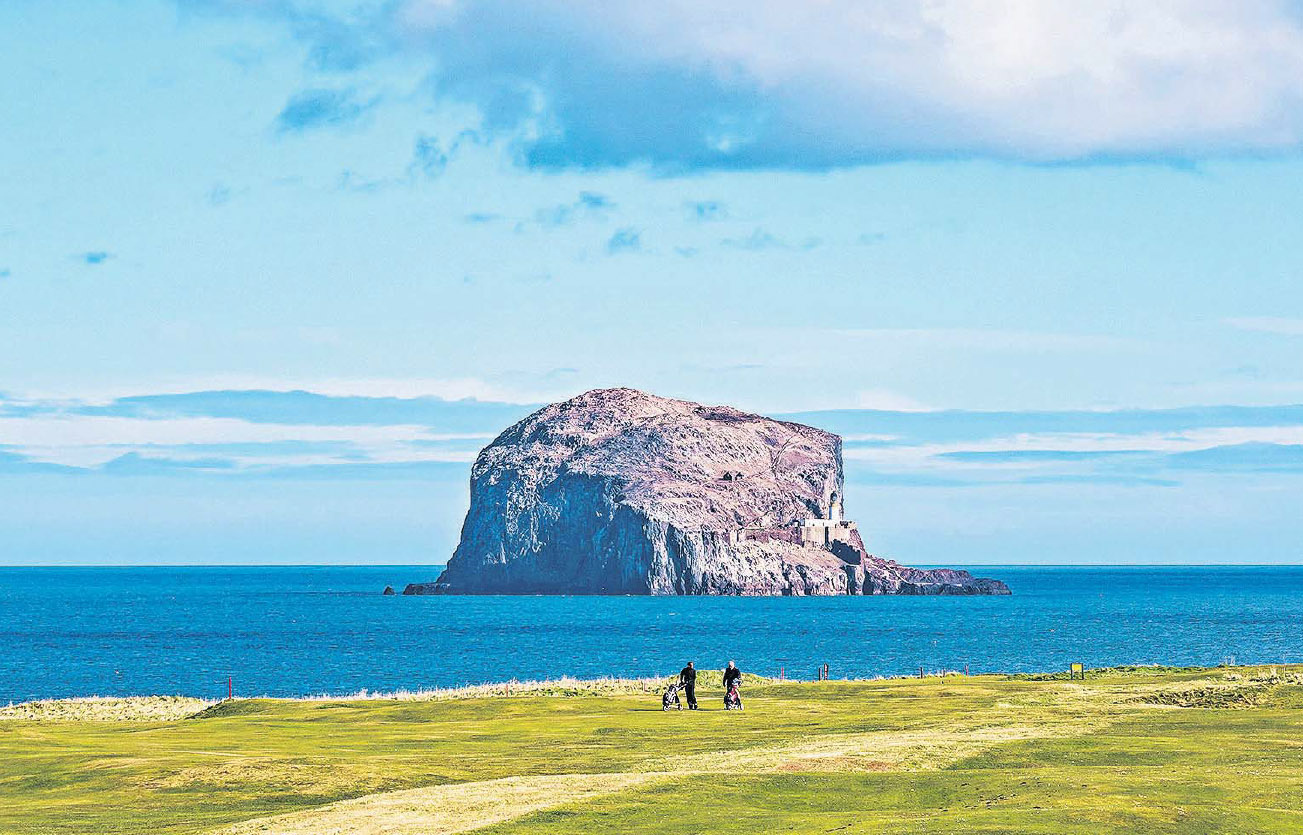 The Bass Rock, Firth of Forth by Sally Anderson.jpg