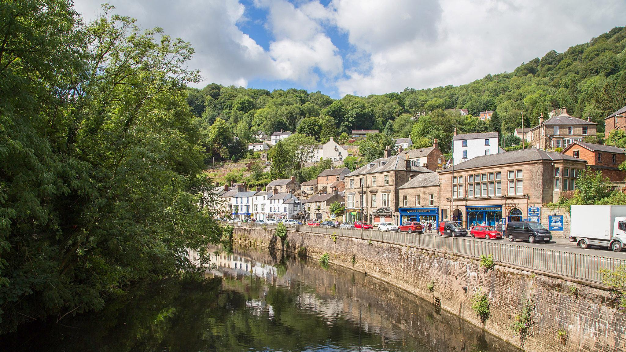 The River Derwent at Matlock Bath by John Hammond.jpg