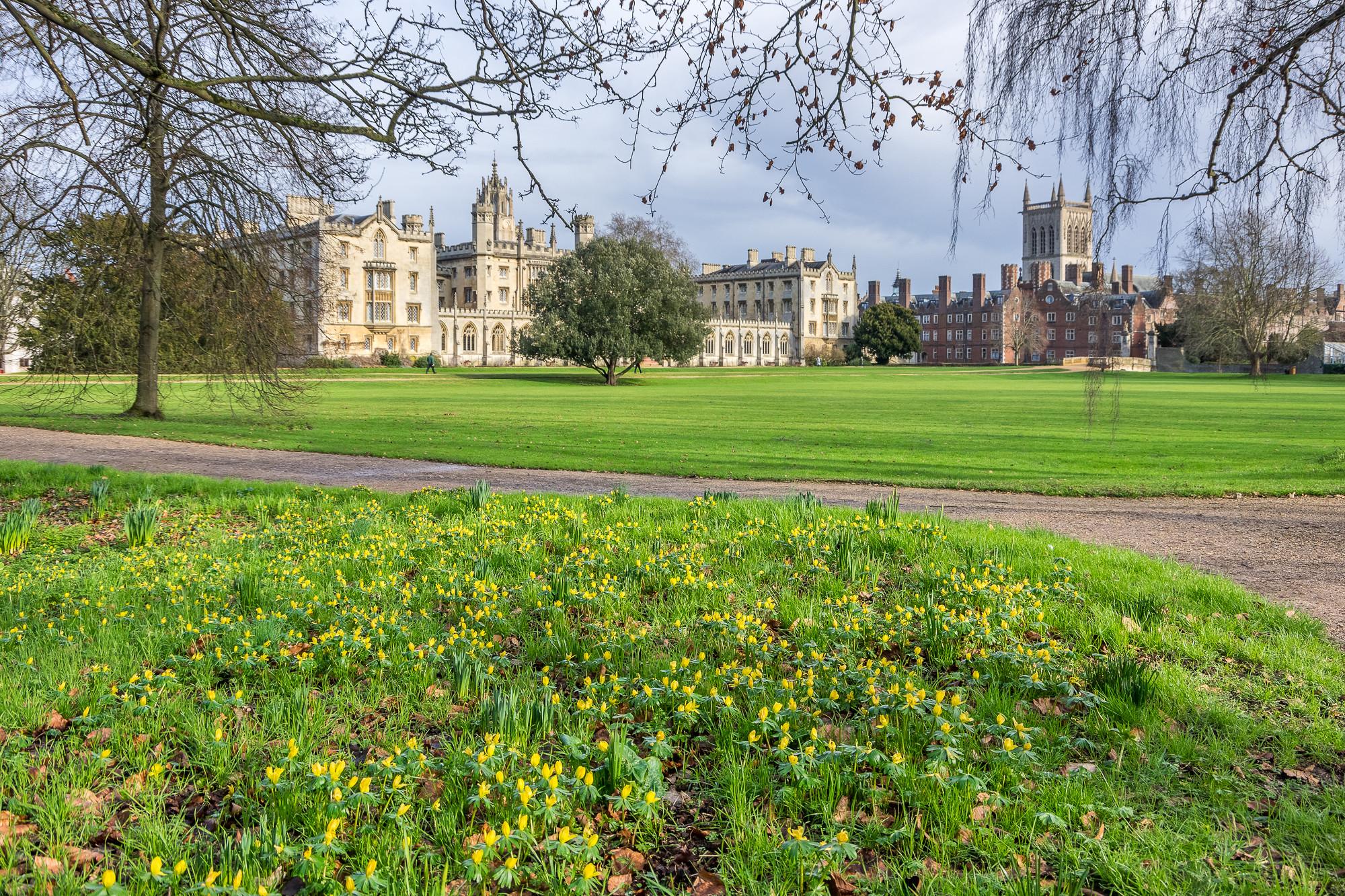 St John's College, Cambridge by Ken Barley.jpg